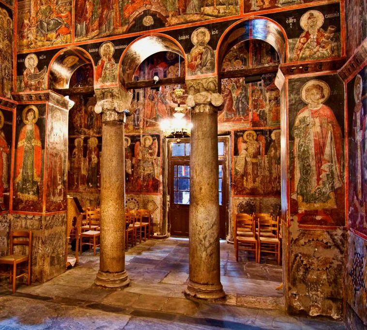 Church Virgin Mary, Meteora-3