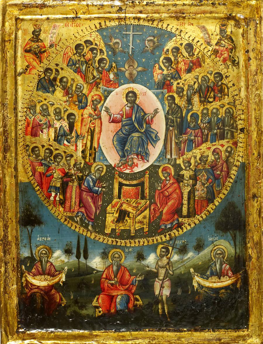 Church's Frescoes,Meteora-4