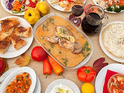 Dinner at Gjirokastra-5