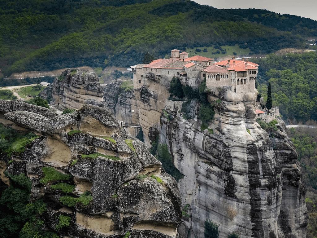 Holy Monastery of Rousanou,Meteora-1