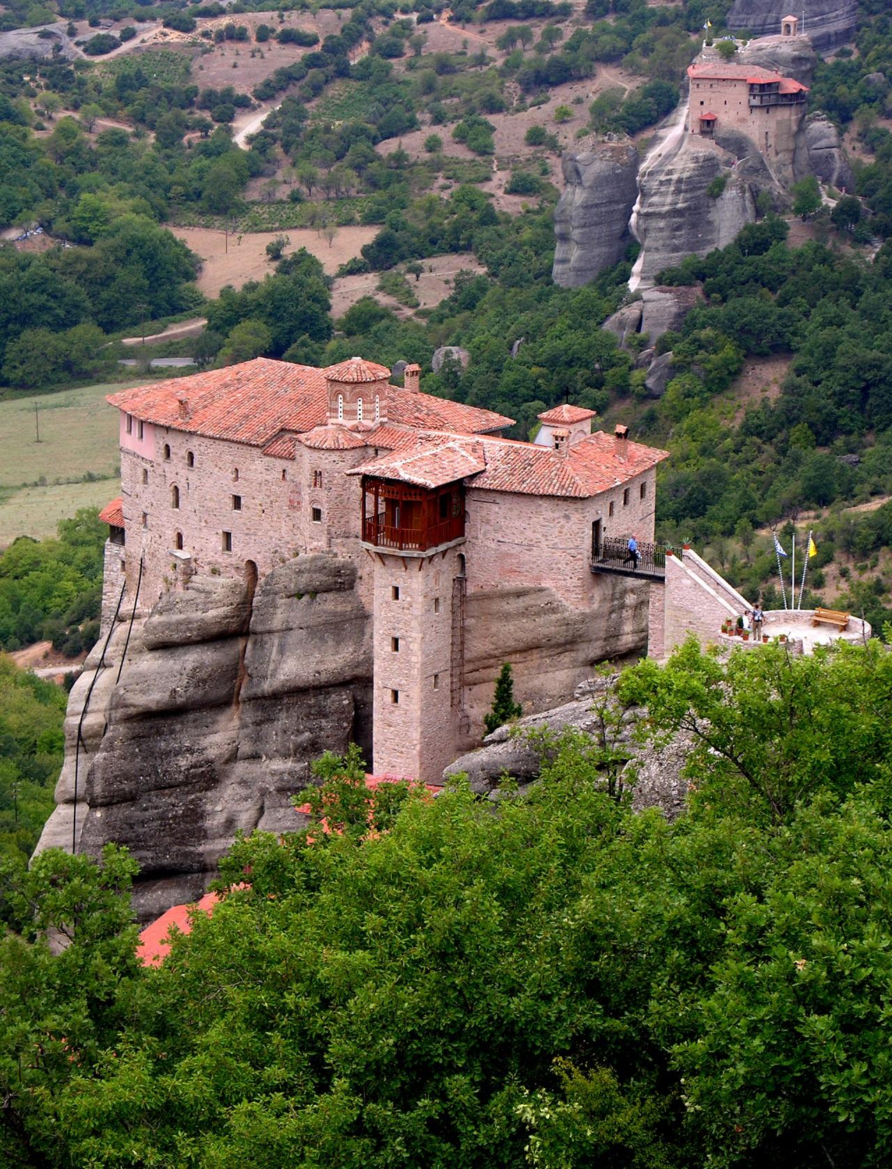 Holy Monastery of Rousanou,Meteora-2