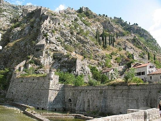 Kotor City Walls -3