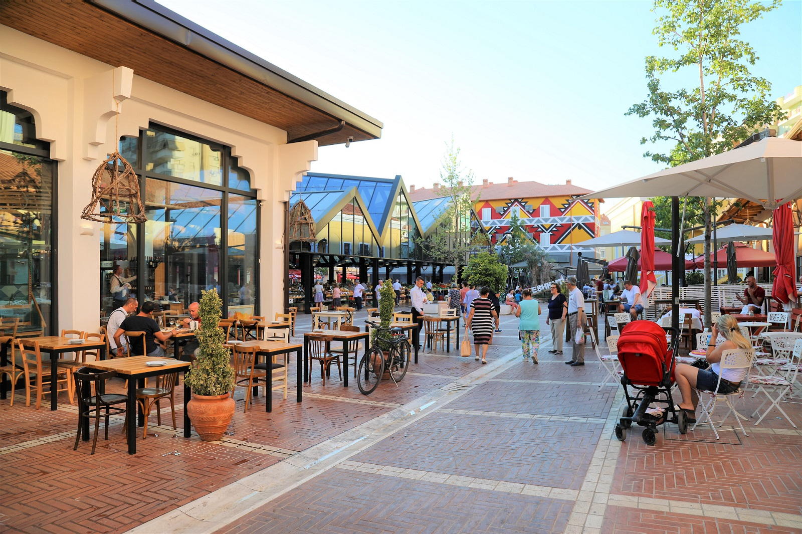 New market Bazaar,Tirana-5