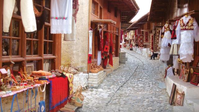 Old Bazzar,Kruja-1