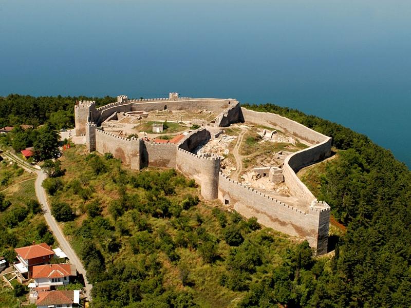 Samuel's Fortress,Ohrid-2