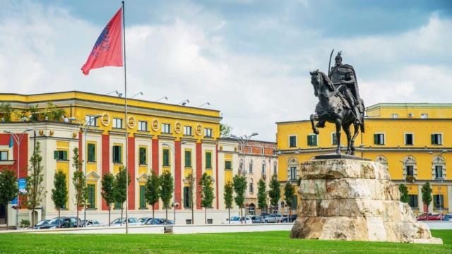 Skanderbeg-Square,Tirana-1