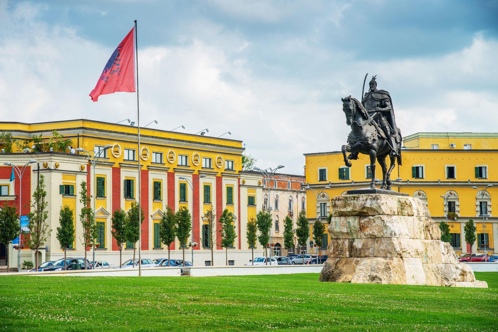 Skanderbeg Square,Tirana-1