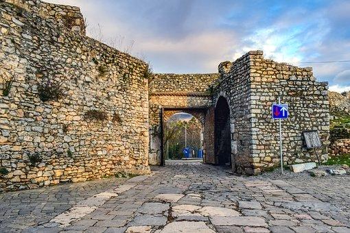 Upper Gate Fortess,Ohrid -1